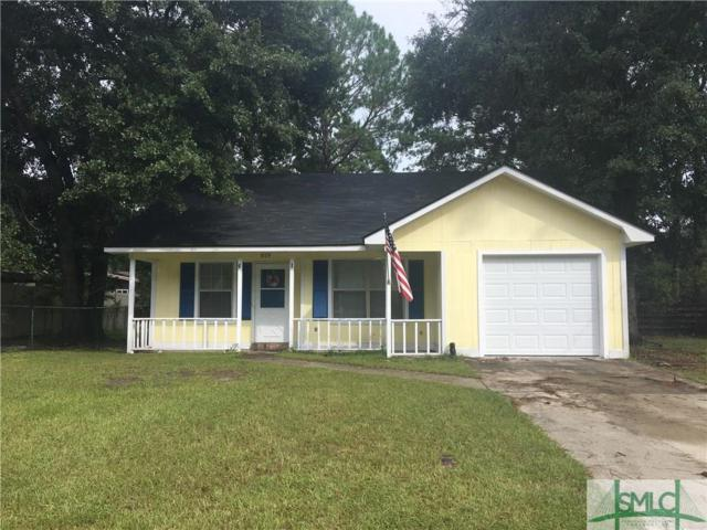 819 Ridgewood Way, Hinesville, GA 31313 (MLS #196937) :: McIntosh Realty Team