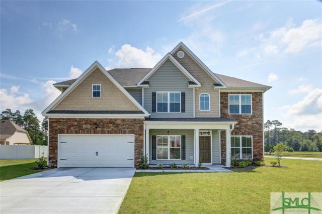 126 Bluegrass Circle, Guyton, GA 31312 (MLS #197031) :: Coastal Savannah Homes