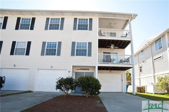 61 Captains View, Tybee Island, GA 31328 (MLS #197112) :: The Robin Boaen Group