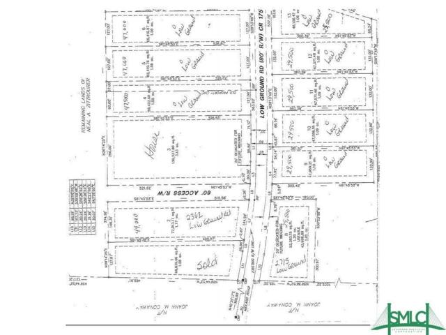 LOT 6 Low Ground Road, Guyton, GA 31312 (MLS #197310) :: The Randy Bocook Real Estate Team