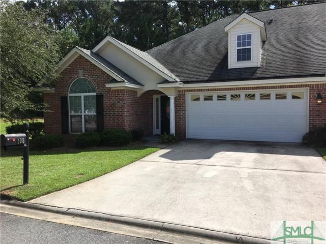 108 Wild Heron Villas Road, Savannah, GA 31419 (MLS #198105) :: The Robin Boaen Group