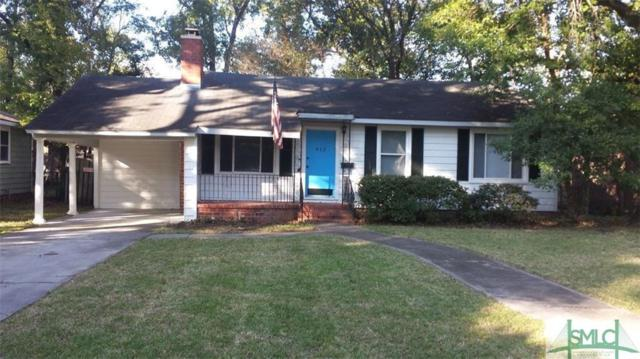 412 E 57th Street, Savannah, GA 31405 (MLS #199078) :: McIntosh Realty Team