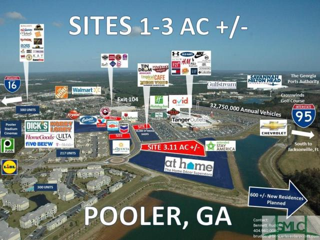140 Tanger Outlet Boulevard, Pooler, GA 31322 (MLS #199239) :: The Arlow Real Estate Group