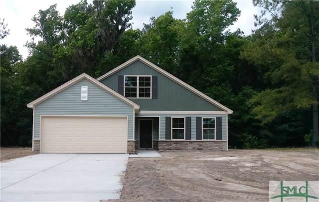 33 Blackberry Circle, Guyton, GA 31312 (MLS #199374) :: The Arlow Real Estate Group