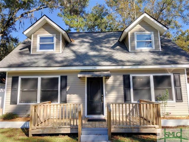 191 Island Drive, Midway, GA 31320 (MLS #199865) :: The Randy Bocook Real Estate Team