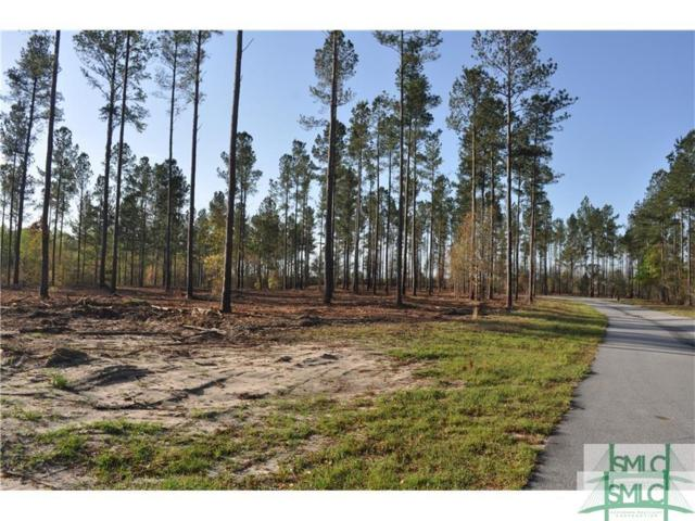 0 Captain Cone Court Lot 15, Brooklet, GA 30415 (MLS #200199) :: Partin Real Estate Team at Luxe Real Estate Services
