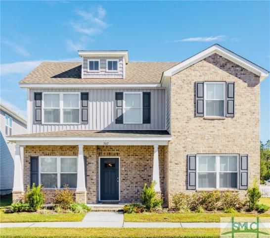 302 Crabapple Circle, Port Wentworth, GA 31407 (MLS #200212) :: The Randy Bocook Real Estate Team