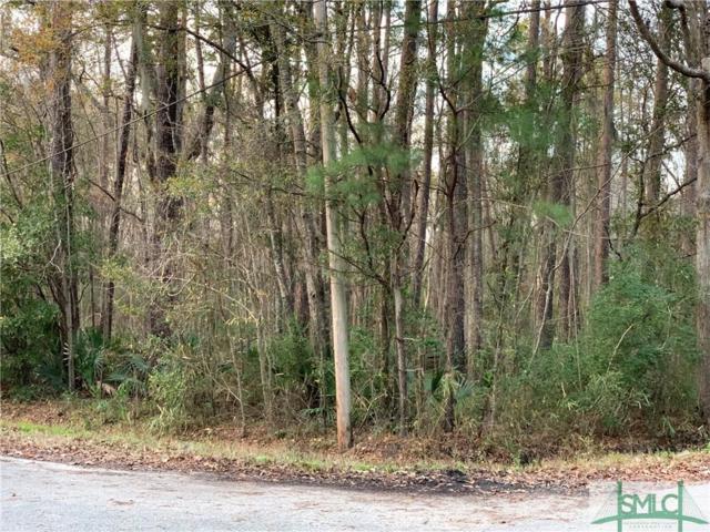 0 Garrard Avenue, Savannah, GA 31405 (MLS #200602) :: The Randy Bocook Real Estate Team