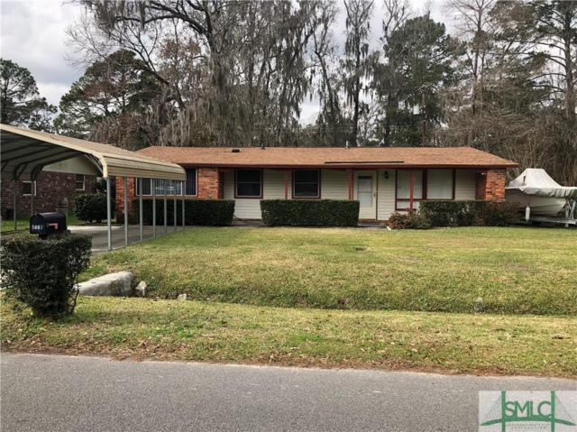 5807 Betty Drive, Savannah, GA 31406 (MLS #201162) :: Coastal Savannah Homes