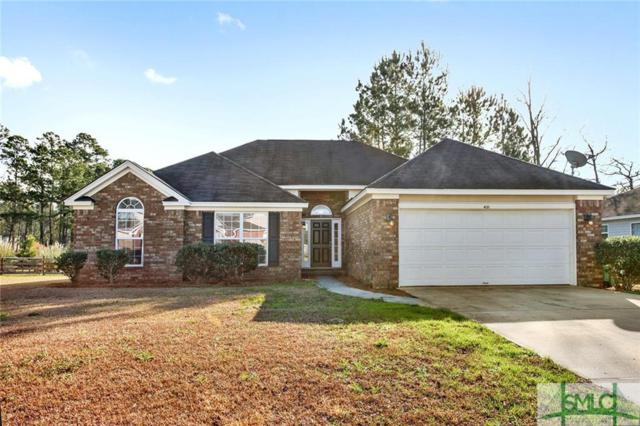 431 Plantation Place, Rincon, GA 31326 (MLS #201233) :: Coastal Savannah Homes