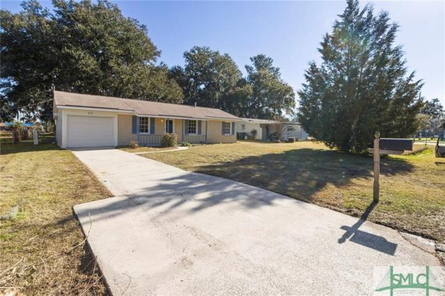 318 Osteen Street, Port Wentworth, GA 31407 (MLS #201836) :: The Randy Bocook Real Estate Team