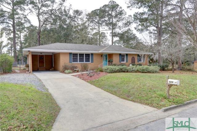 629 Beauregard Street, Savannah, GA 31405 (MLS #202002) :: Keller Williams Realty-CAP