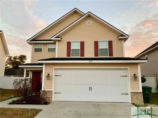 617 Amhearst Row, Hinesville, GA 31313 (MLS #202151) :: Keller Williams Realty-CAP