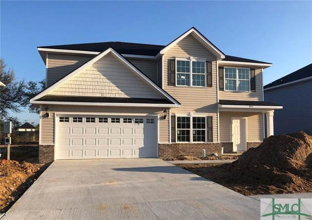 397 Alcott Circle, Hinesville, GA 31313 (MLS #202479) :: Keller Williams Realty-CAP