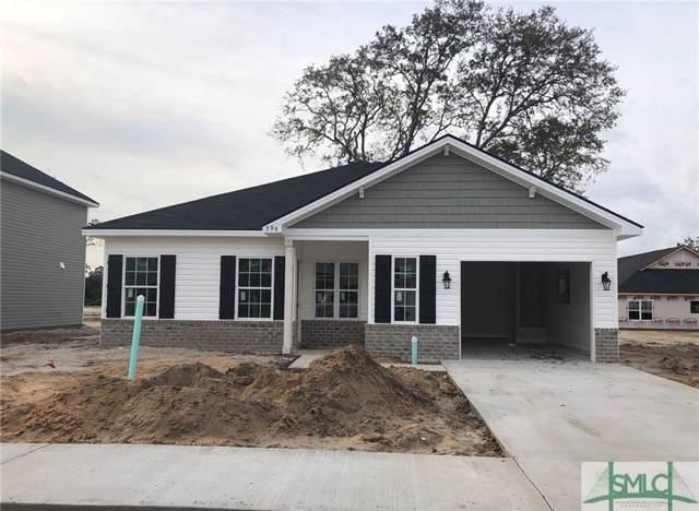 396 Alcott Circle, Hinesville, GA 31313 (MLS #202491) :: Keller Williams Realty-CAP