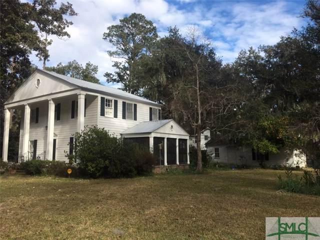 220 Grimball Point Road, Savannah, GA 31406 (MLS #202820) :: Coastal Savannah Homes