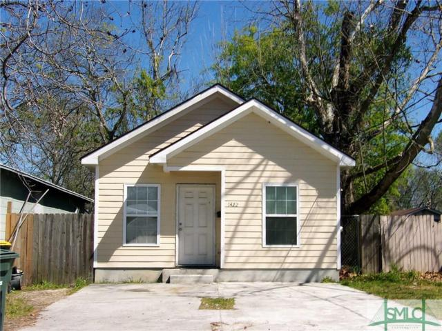1422 Augusta Avenue, Savannah, GA 31415 (MLS #203394) :: Karyn Thomas