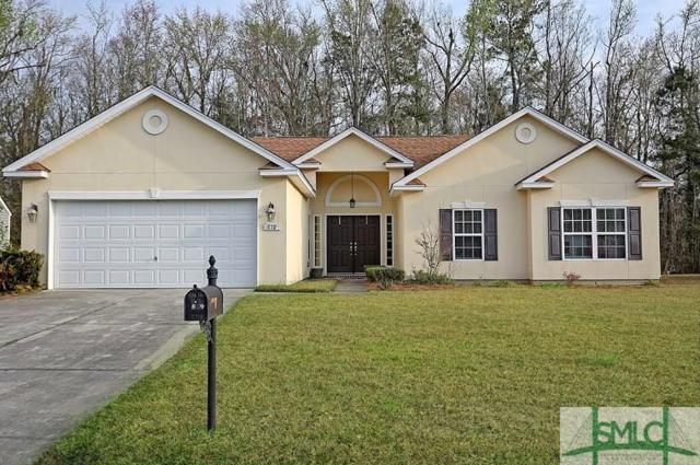 819 Hyacinth Drive, Guyton, GA 31312 (MLS #203955) :: The Randy Bocook Real Estate Team