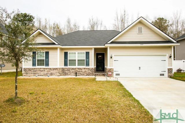 1252 Peacock Trail, Hinesville, GA 31313 (MLS #204005) :: Coastal Savannah Homes