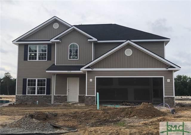372 Alcott Circle, Hinesville, GA 31313 (MLS #204031) :: Coastal Savannah Homes