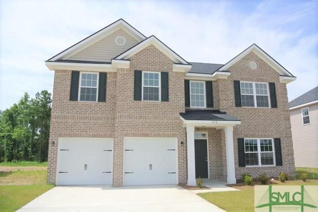 668 Red Oak Lane, Hinesville, GA 31313 (MLS #204137) :: Karyn Thomas
