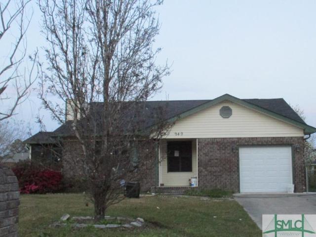 949 Gulfstream Road, Hinesville, GA 31313 (MLS #204166) :: Karyn Thomas