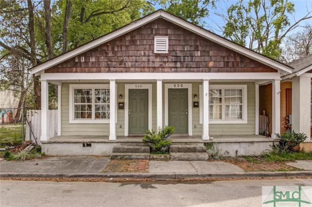 535 E 31st Street, Savannah, GA 31401 (MLS #204358) :: Coastal Savannah Homes