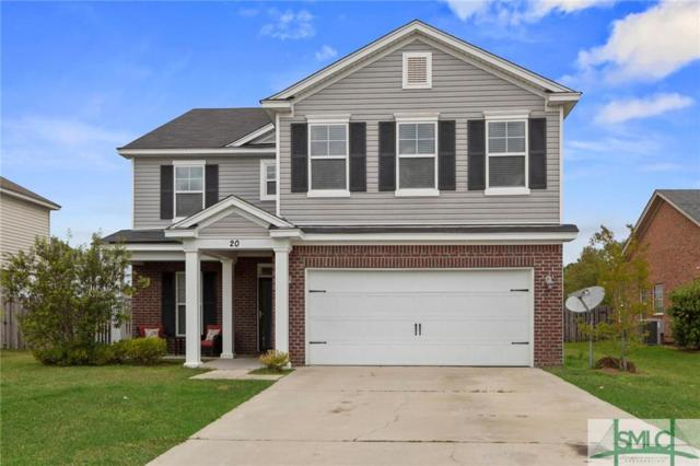 20 Tranquil Place, Pooler, GA 31322 (MLS #205328) :: McIntosh Realty Team