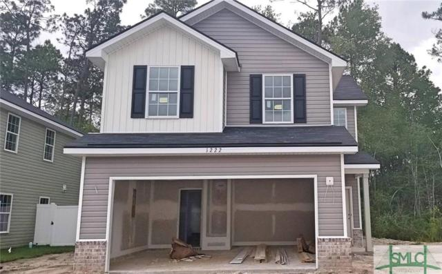 1222 Cypress Fall Circle, Hinesville, GA 31313 (MLS #205456) :: The Arlow Real Estate Group
