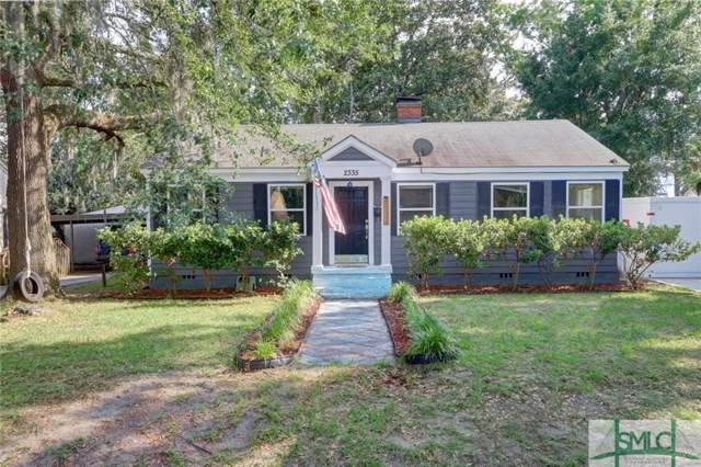 2335 E 40th Street, Savannah, GA 31404 (MLS #205525) :: Coastal Savannah Homes