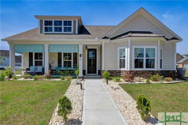 22 Lakeside Drive, Port Wentworth, GA 31407 (MLS #205547) :: The Arlow Real Estate Group