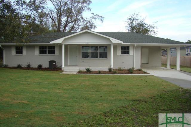 681 Live Oak Church Road, Hinesville, GA 31313 (MLS #205824) :: The Sheila Doney Team