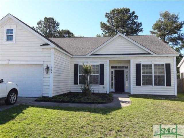 214 Grasslands Drive, Pooler, GA 31322 (MLS #205943) :: Keller Williams Realty-CAP
