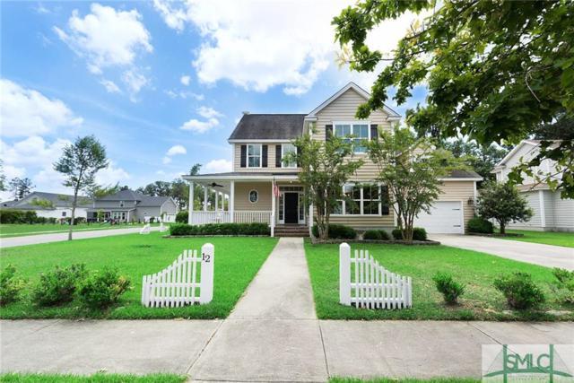 12 Whispering Oaks Trail, Savannah, GA 31419 (MLS #206468) :: The Sheila Doney Team