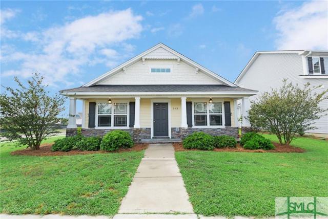 303 Crabapple Circle, Port Wentworth, GA 31407 (MLS #206699) :: Coastal Savannah Homes