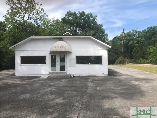 4502 Augusta Road, Garden City, GA 31408 (MLS #207159) :: The Randy Bocook Real Estate Team