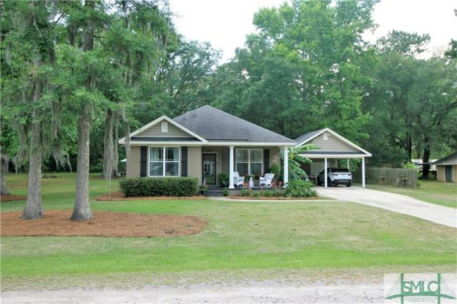 313 Old Sunbury Trail, Midway, GA 31320 (MLS #207356) :: Coastal Savannah Homes