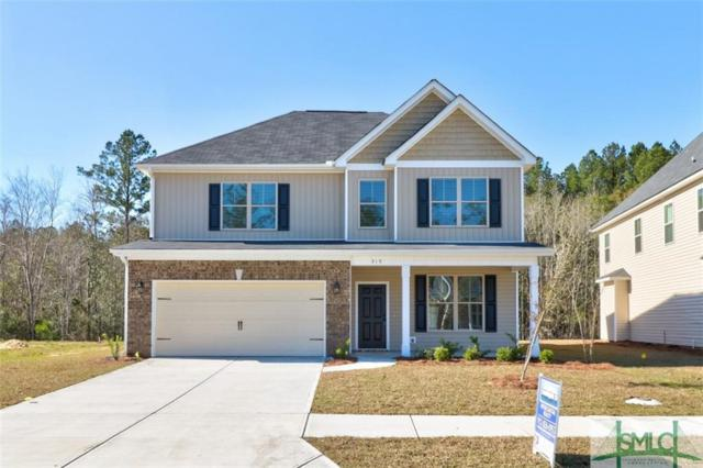 316 Coconut Drive, Bloomingdale, GA 31302 (MLS #208068) :: The Arlow Real Estate Group