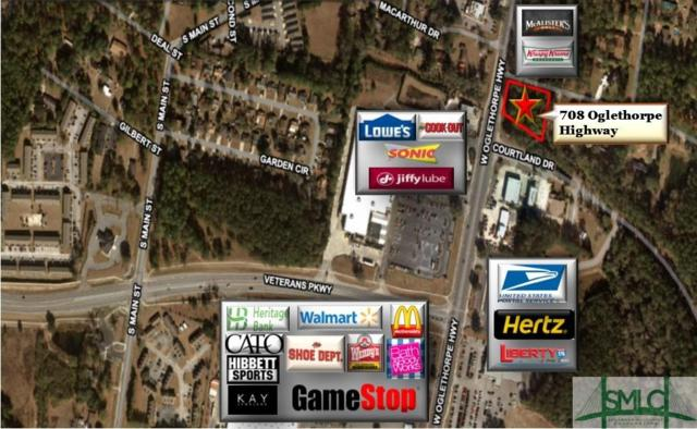 708 W Oglethorpe Highway, Hinesville, GA 31313 (MLS #208856) :: The Arlow Real Estate Group
