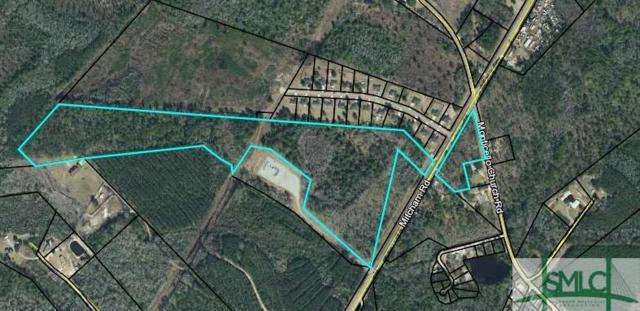 0 Barrett Cemetary And Elim Church Road, Ludowici, GA 31316 (MLS #209082) :: Teresa Cowart Team