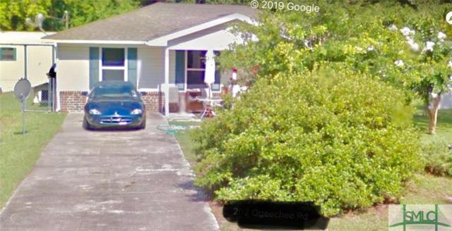 1005 Ogeechee Road, Hinesville, GA 31313 (MLS #209912) :: Coastal Savannah Homes