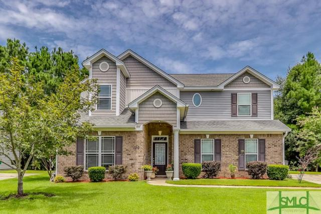 120 Magnolia Drive, Pooler, GA 31322 (MLS #209943) :: Keller Williams Realty-CAP