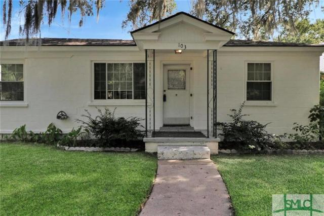 103 Holcomb Street, Savannah, GA 31406 (MLS #210518) :: Keller Williams Coastal Area Partners