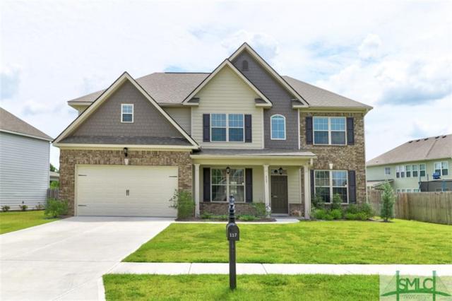 117 Bluegrass Circle, Guyton, GA 31312 (MLS #210807) :: The Randy Bocook Real Estate Team