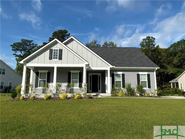 139 Bramswell Road, Pooler, GA 31322 (MLS #212065) :: Keller Williams Coastal Area Partners