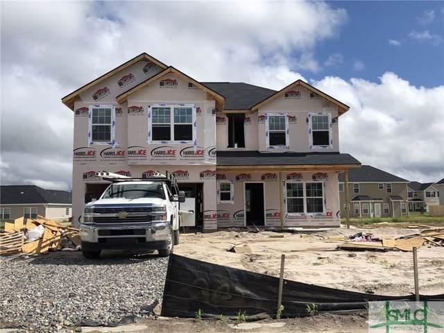 724 Burke Drive, Hinesville, GA 31313 (MLS #212592) :: Teresa Cowart Team