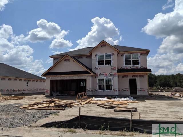 687 Burke Drive, Hinesville, GA 31313 (MLS #212719) :: McIntosh Realty Team