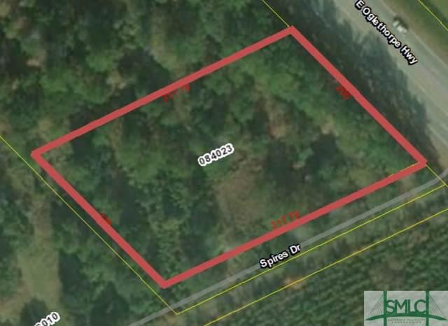 00 E Olgethorpe Highway, Flemington, GA 31309 (MLS #213096) :: Bocook Realty