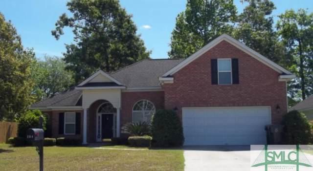 101 Shady Grove Lane, Savannah, GA 31419 (MLS #215001) :: The Arlow Real Estate Group