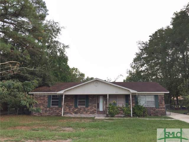 225 Deerwood Drive, Hinesville, GA 31313 (MLS #215122) :: The Arlow Real Estate Group